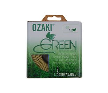 Biologisch afbreekbare nylondraad OZAKI GREEN, Ø 2.4mm, L: 15m.