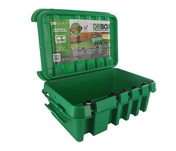 DRIBOX: Waterbestendige box voor elektrische aansluitingen gebruik buitenshuis, vele toepassingsmogelijkheden. Groot model. IP55 - Stofvrij en spuitwaterdicht. Afmetingen 330 x 230 x 140mm
