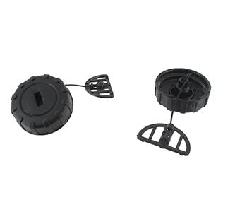 Brandstof- en oliedop voor STIHL modellen 017, 018, MS170, MS180. Vervangt origineel 1130-350-0500.