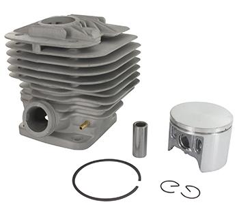 Cilinderset ø 50mm voor DOLMAR modellen PC7312, PC7314, PC7330, PC7335, PC7335C - MAKITA modellen DPC7300, DPC7301, DPC7311, DPC7320, DPC7321 - WACKER BTS1030, BTS1030 L3, BTS1035, BTS1035 L3. Vervangt origineel 394 130 013, 394 130 014, 394 130 015, 0202780.