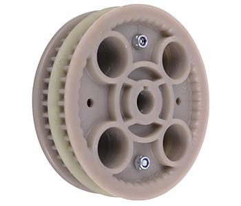 Toothed pulley. Replaces original STIGA 1134-3679-02. fits Villa 85M, Villa 102M, Villa Ready, Park 102M, Park 121M.