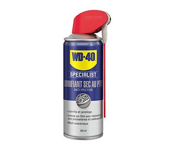 PTFE Droogsmeerspray WD-40® SPECIALIST 400ml met verstelbare sproeimond.
