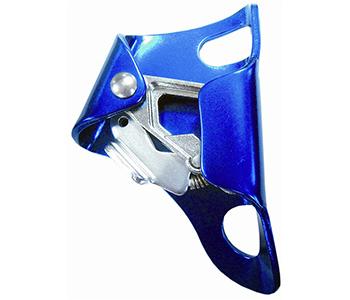 Ventrale stijgklem, gebruik op borsthoogte. Uit aluminium, voor klimlijn van 8 tot 13mm. Voor het opklimmen langs een vaste klimlijn. Norm: EN567