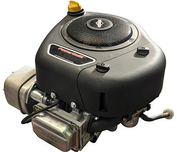 BRIGGS & STRATTON - Verticale as - 25,4 x 80 mm -344cc powerbuilt OHV - Elektrisch gestart - Dual alternator - met uitlaat