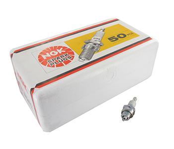 Werkplaatsverpakking 50 NGK bougies BMR6A. Prijs per stuk - Te bestellen per veelvoud van 50.
