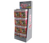 Display met 16 starterskits 4-takt X'OIL® voor gazonmaaiers